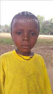Choose a child to sponsor, like this little boy from Jaiama Bongor, Musa age 6