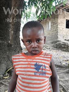 Choose a child to sponsor, like this little boy from Jaiama Bongor, Umaru age 3