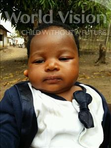 Choose a child to sponsor, like this little girl from Jaiama Bongor, Haja age 1