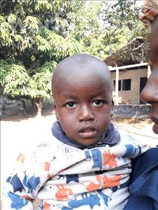 Ibrahim, aged 2, from Sierra Leone, is hoping for a World Vision sponsor