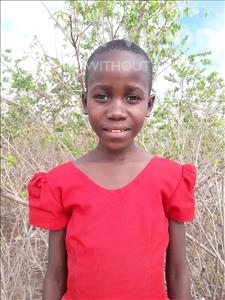 Choose a child to sponsor, like this little girl from Kilimatinde, Christina Juma age 10
