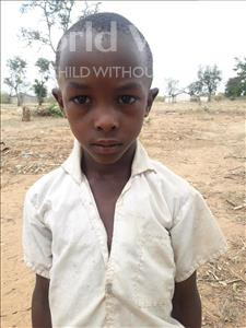 Choose a child to sponsor, like this little boy from Kilimatinde, PETER JOSEPH age 9