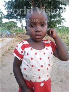 Choose a child to sponsor, like this little girl from Kilimatinde, Ester John age 4