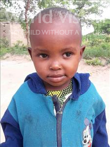 Choose a child to sponsor, like this little girl from Kilimatinde, Sarah age 3