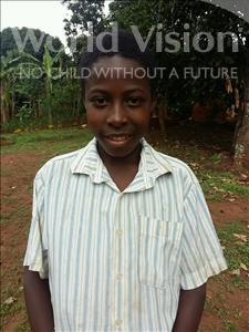Choose a child to sponsor, like this little boy from Kibiga-Mulagi (Kimu), Frank age 13