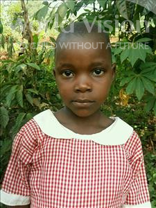 Choose a child to sponsor, like this little girl from Kibiga-Mulagi (Kimu), Angel age 6