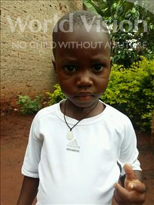 Raymond, aged 3, from Uganda, is hoping for a World Vision sponsor