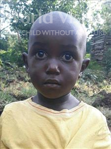 Choose a child to sponsor, like this little boy from Busitema, Amuza Rayan age 2