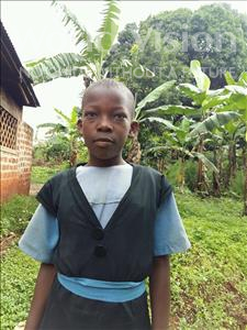 Choose a child to sponsor, like this little girl from Ntwetwe, Resty age 13