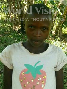 Choose a child to sponsor, like this little girl from Ntwetwe, Evasi age 12