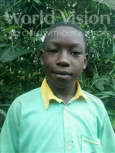Choose a child to sponsor, like this little boy from Ntwetwe, Paul age 10