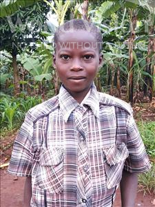 Choose a child to sponsor, like this little boy from Ntwetwe, Waswa age 11