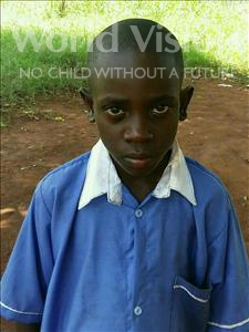 Choose a child to sponsor, like this little boy from Ntwetwe, John Eddie age 9