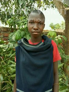 Choose a child to sponsor, like this little girl from Ntwetwe, Betty age 13