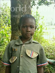 Choose a child to sponsor, like this little boy from Ntwetwe, Simon Peter age 6