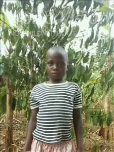Choose a child to sponsor, like this little girl from Ntwetwe, Ruth age 7