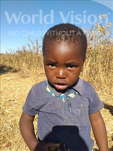 Choose a child to sponsor, like this little boy from Keembe, Wastone age 2