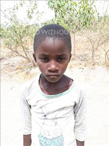 Algebra, aged 7, from Zambia, is hoping for a World Vision sponsor