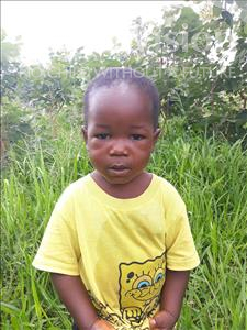 Choose a child to sponsor, like this little boy from Keembe, Cosmas age 4