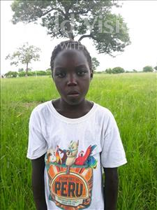 Choose a child to sponsor, like this little girl from Keembe, Eunice age 8