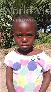 Choose a child to sponsor, like this little girl from Keembe, Marvis age 2
