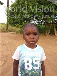 Choose a child to sponsor, like this little boy from Keembe, Daka age 3