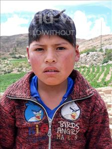 Choose a child to sponsor, like this little boy from Mosoj P'unchay, Pedro Pablo age 13
