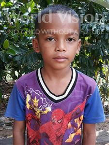 Choose a child to sponsor, like this little boy from Soutr Nikom, Ratana age 8