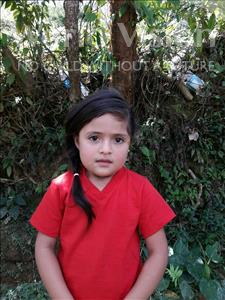Choose a child to sponsor, like this little girl from Maya, Nilser Nait age 4