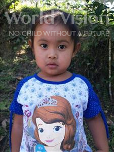 Choose a child to sponsor, like this little girl from Maya, Kimberly Gerarmin age 3