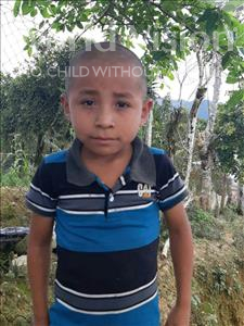 Choose a child to sponsor, like this little boy from Maya, Gelvin Omar age 7