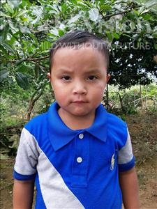 Choose a child to sponsor, like this little boy from Maya, Edwin Otoniel age 4