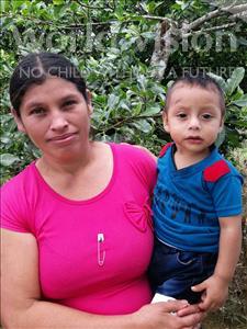 Choose a child to sponsor, like this little boy from Maya, Elser Estuardo age 1