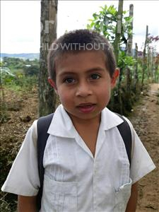 Choose a child to sponsor, like this little boy from Maya, Edin Saul age 7
