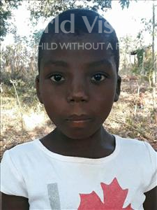 Choose a child to sponsor, like this little girl from Kazuzo, Maineda Aderito age 6