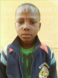 Choose a child to sponsor, like this little boy from Sirba, Mahamadou age 13