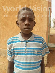 Choose a child to sponsor, like this little boy from Sirba, Abdoulmoutalib age 11