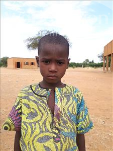 Choose a child to sponsor, like this little boy from Sirba, Abdoulsalam age 8