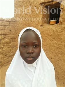 Choose a child to sponsor, like this little girl from Sirba, Inayatou age 9
