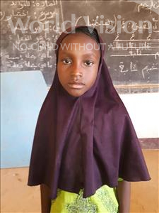 Choose a child to sponsor, like this little girl from Sirba, Amina age 7