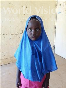 Choose a child to sponsor, like this little girl from Sirba, Moujiana age 7