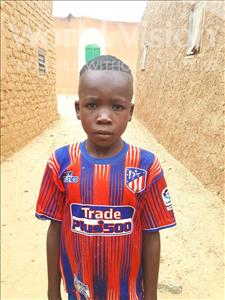 Choose a child to sponsor, like this little boy from Sirba, Djibo age 10