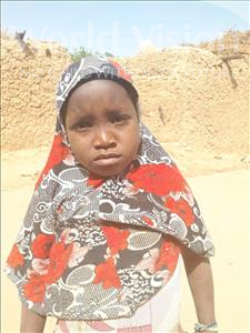 Choose a child to sponsor, like this little girl from Sirba, Rafatou age 7