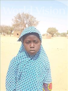 Fadila, aged 7, from Niger, is hoping for a World Vision sponsor
