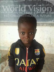 Choose a child to sponsor, like this little boy from Sirba, Loukmane age 7