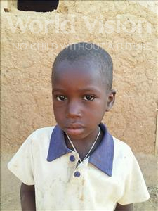 Choose a child to sponsor, like this little boy from Sirba, Alfadri age 4
