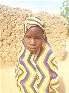 Choose a child to sponsor, like this little girl from Sirba, Roukeiya age 6