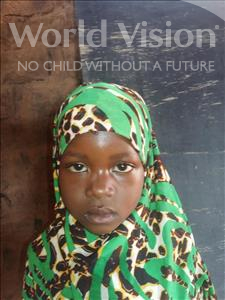 Choose a child to sponsor, like this little girl from Sirba, Hassana age 6