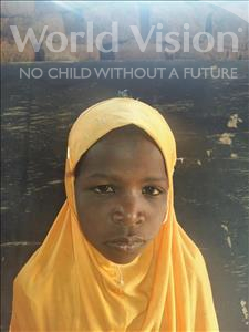 Choose a child to sponsor, like this little girl from Sirba, Kadidja age 8