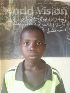 Choose a child to sponsor, like this little boy from Sirba, Amza age 12